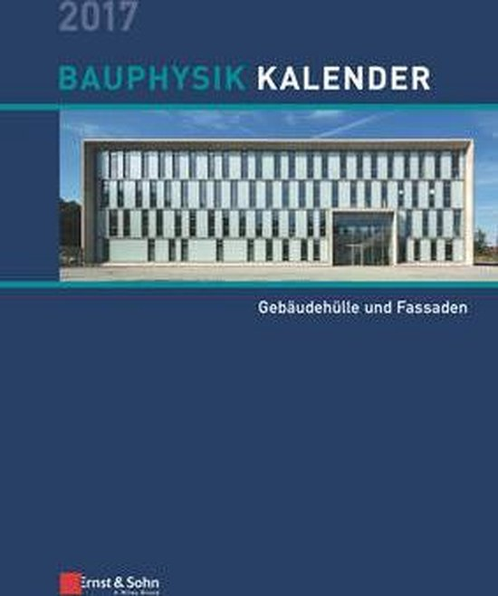 Bauphysik Kalender 2017