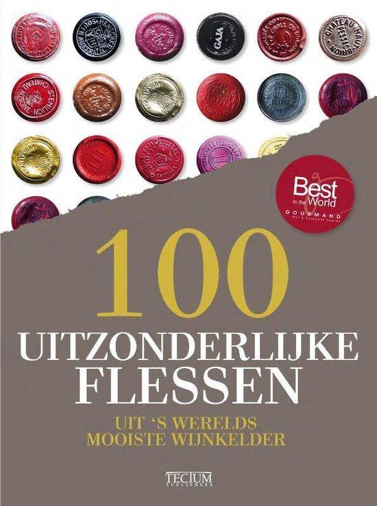 Cover van het boek '100 uitzonderlijke flessen' van Michael-Jack Chasseuil