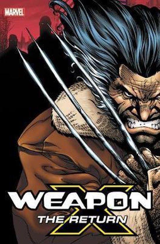 Boek cover Weapon X van Frank Tieri (Hardcover)