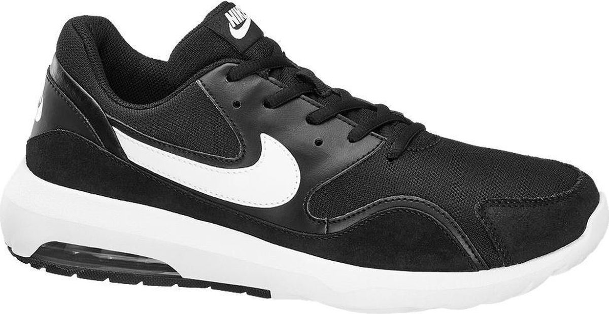 | Nike Heren Sneakers Air Max Nostalgic Zwart