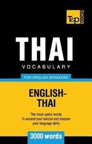 Thai Vocabulary for English Speakers - 3000 Words