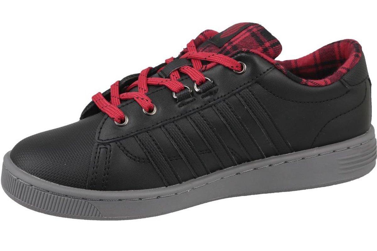 K-Swiss Hoke Plaid 85111-050, Vrouwen, Zwart, Sneakers maat: 37 EU WEEvC