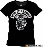 SOA - Logo Patch Men T-Shirt - Black - S