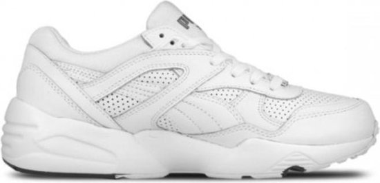 bol.com | Puma Trinomic R698 core leather wit sneakers heren