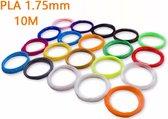 3D pen PLA filament - 120 meter (12 kleuren, elk 10m)