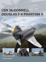 Boek cover USN McDonnell Douglas F-4 Phantom II van Peter E. Davies