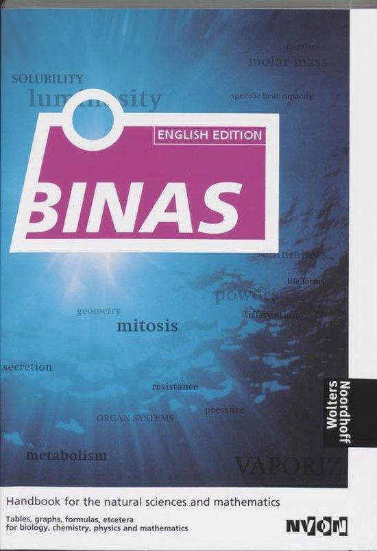 Binas English edition - G. Verkerk |