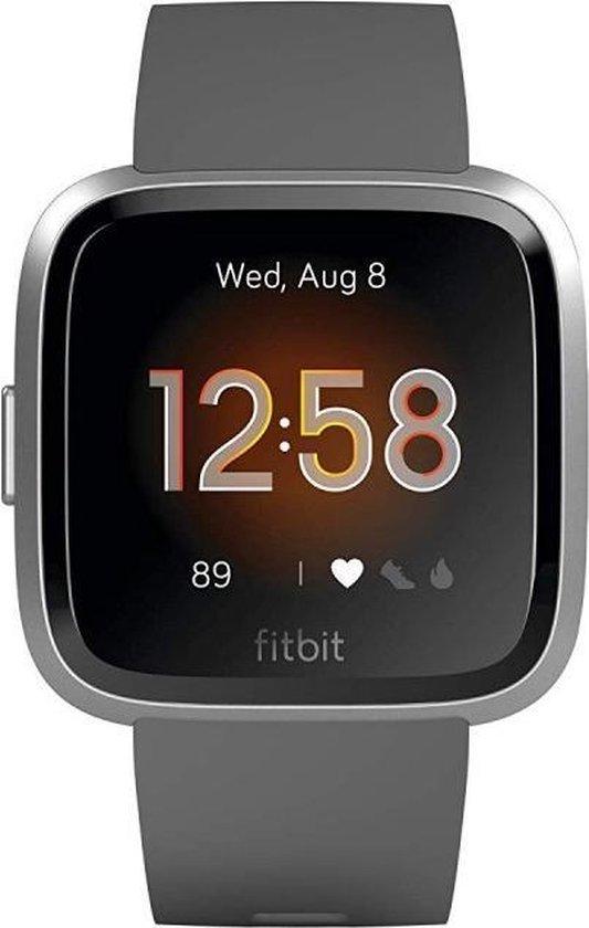 Fitbit Versa Lite - Smartwatch - Grijs/Zilver