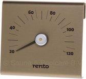 Design Sauna Thermometer Champagne (15cm)