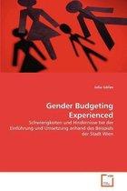 Gender Budgeting Experienced