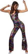 Disco Girl voor dames vrouwen M verkleedkleding