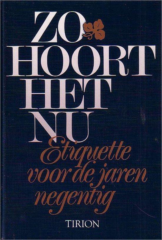 ZO HOORT HET NU - Grosfeld pdf epub
