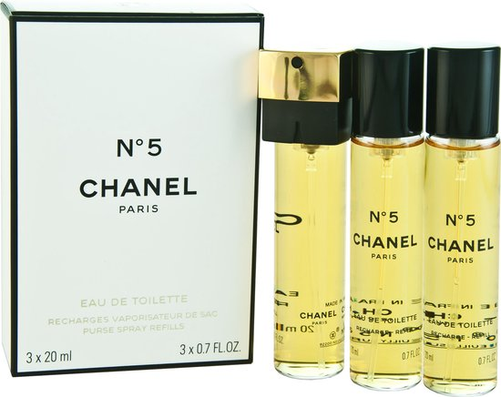 Chanel No.5 for Women - 3 delig