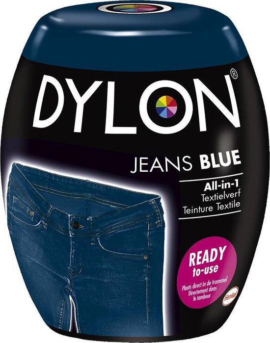 DYLON Wasmachine Textielverf Pods - Blue Jeans - 350g