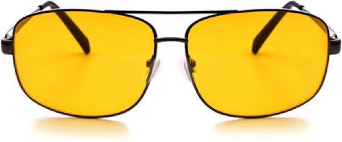 Nachtbril - Model A - Beter zicht in het donker en met slecht weer - Merkloos