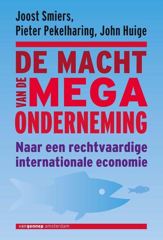 Macht van de megaonderneming - Joost Smiers |
