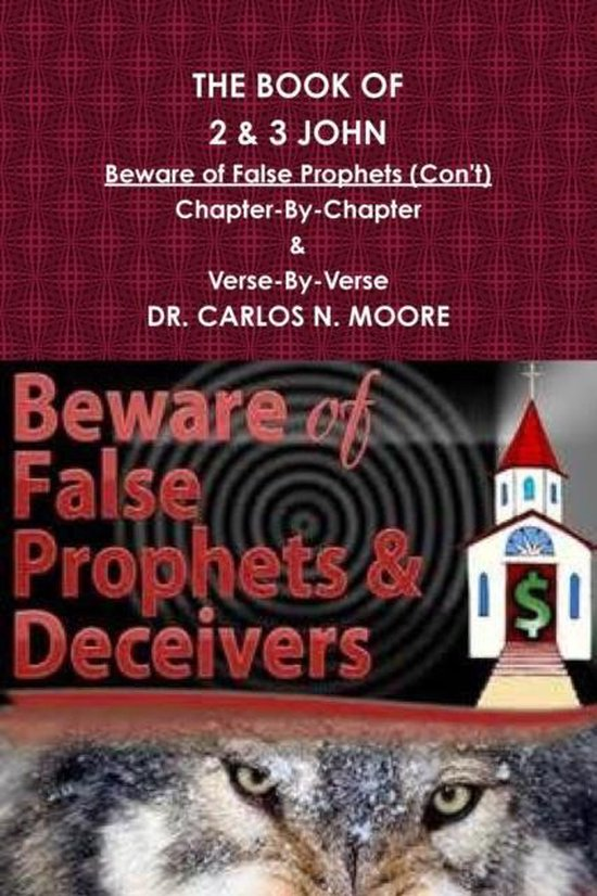 Boek cover The Book of 2 & 3 John van Dr Carlos N Moore (Paperback)