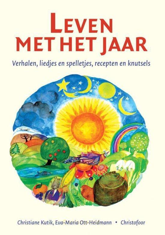 Boek cover Leven met het jaar van Christiane Kutik (Hardcover)