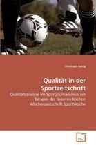 Qualitat in Der Sportzeitschrift