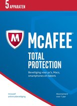 McAfee Total Protection - Nederlands - 5 Apparaten