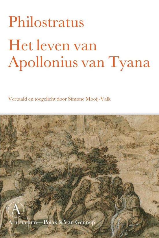 Boek cover Het leven van Apollonius van Tyana van Philostratus (Onbekend)