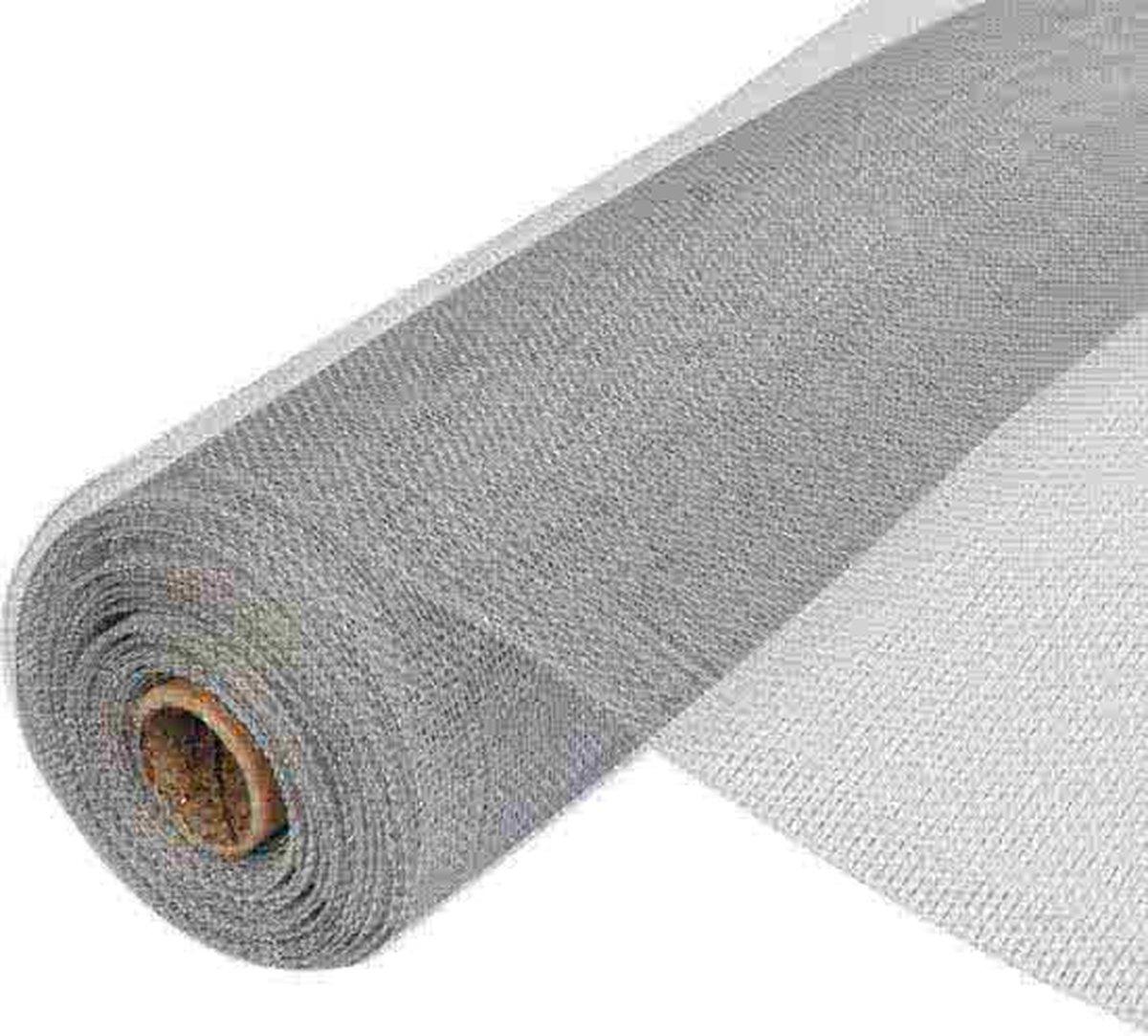 Aluminium horrengaas 0,6x30m (maaswijdte 18x16) - Schadébo Professioneel
