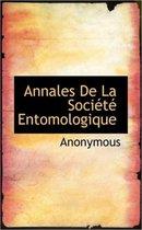Annales de La Soci T Entomologique