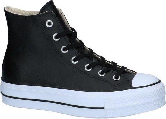 Hoge Geklede Sneakers Zwart Converse Chuck Taylor All Star