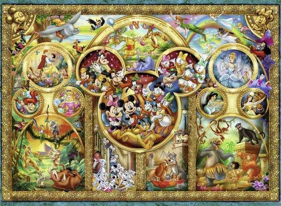 Ravensburger puzzel Most famous Disney characters - Legpuzzel - 500 stukjes