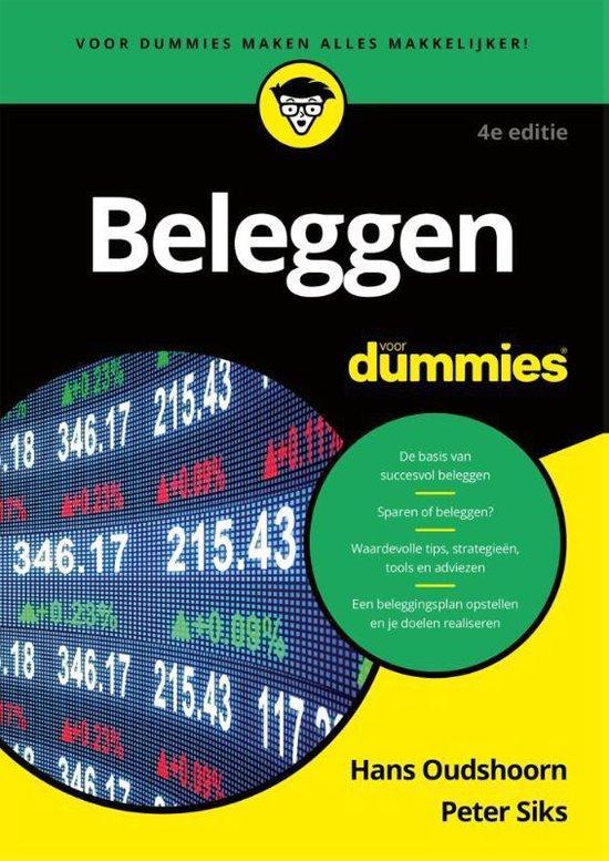 Voor Dummies - Beleggen voor Dummies 4e editie - Hans Oudshoorn  