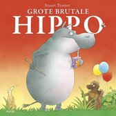 Grote brutale Hippo