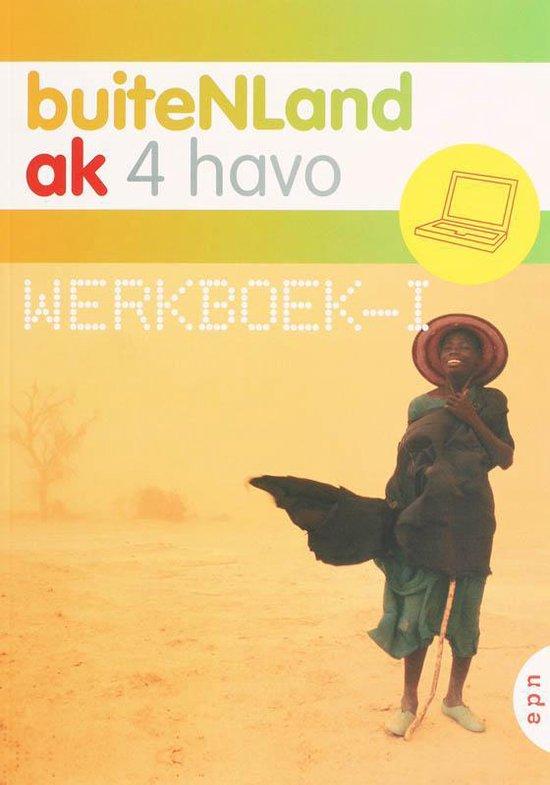 BuiteNLand / 4 Havo / deel Werkboek-i + website - Michel de Boer |