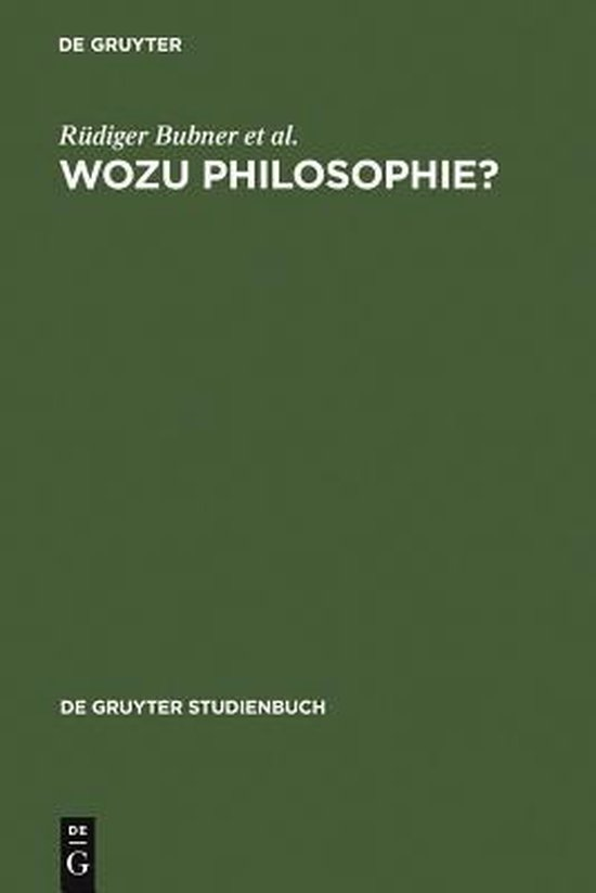 Wozu Philosophie?
