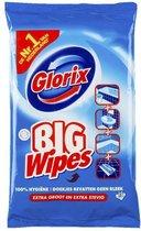 Glorix Big wipes Ocean - Schoonmaakdoekjes - 15 stuks