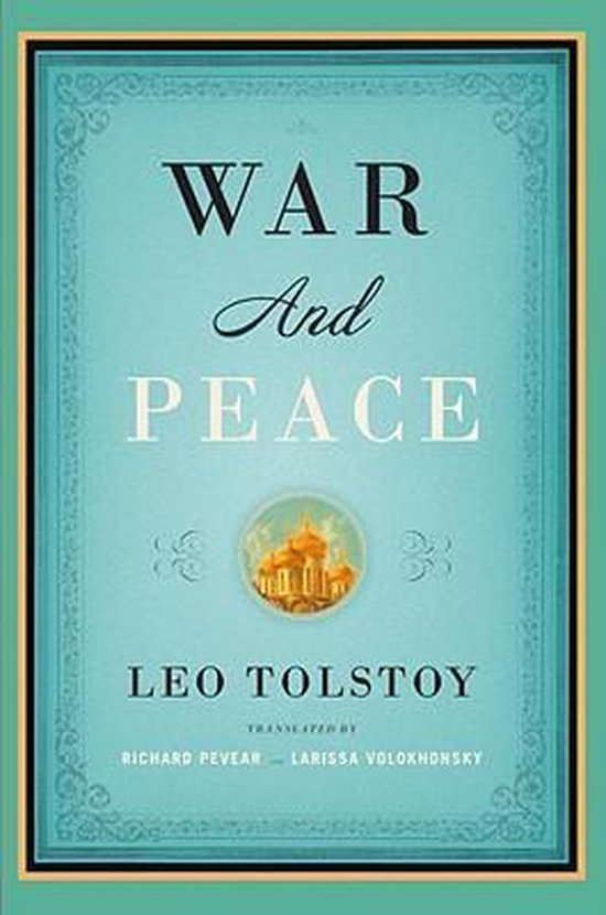 Boek cover War and Peace van Leo Tolstoy (Paperback)