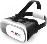 """DELTACO VRBOX Virtuele 3D-bril voor smartphones met 3,5 """"-6,0"""" display, lensmaat 42 mm, zwart / grijs / wit"""