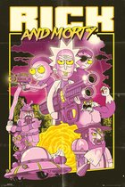Rick and Morty-poster-61x91.5cm.