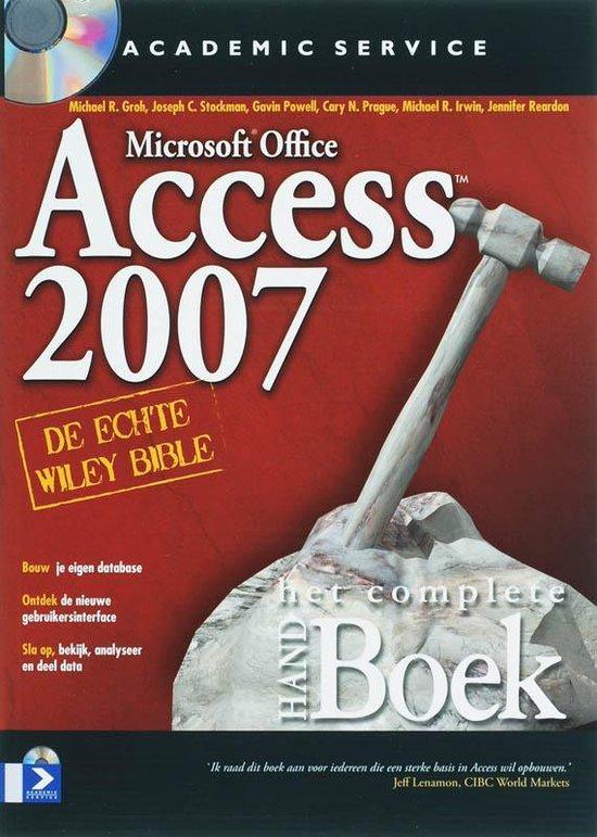 Het Complete HANDboek Access 2007 - M.R. Groh |