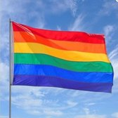 Regenboogvlag - LGBT Gay Pride Regenboog Vlag - Grote Homo Rainbow Flag - 90 x 150 CM