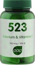 AOV 523 Selenium & Vitamine E - 60 capsules  - Mineralen - Voedingssupplementen