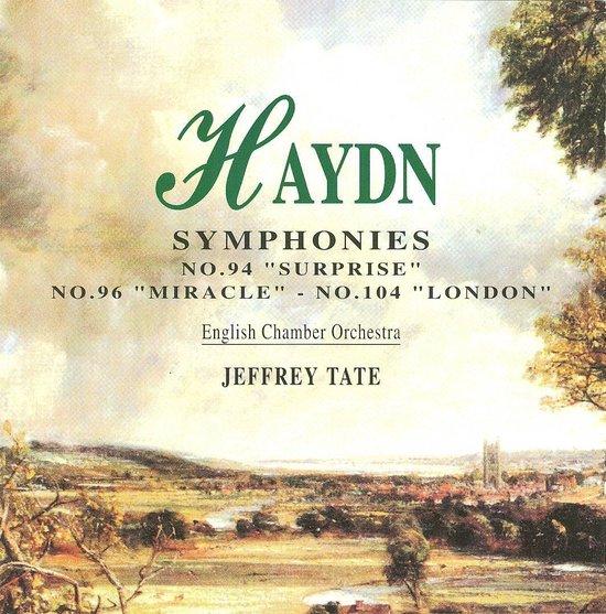 "Haydn: Symphonies Nos.94 ""Surprise"", 96 ""Miracle"", & 104 ""London"""