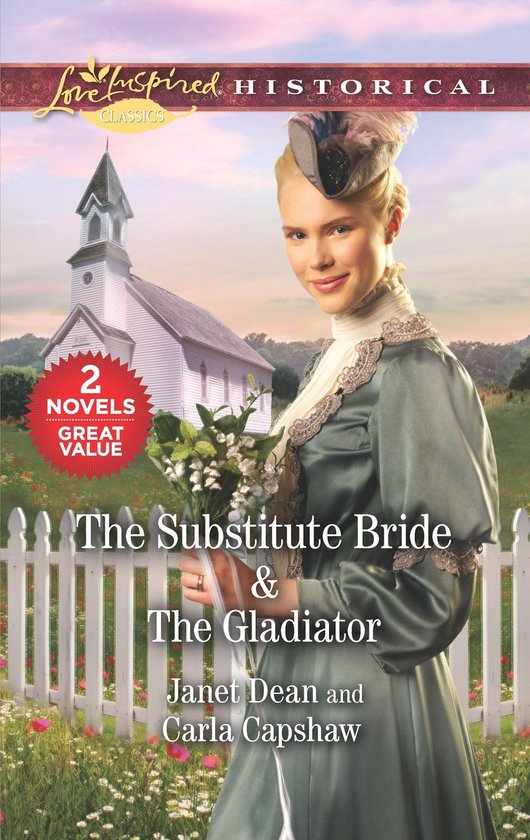 Boek cover The Substitute Bride & The Gladiator van Janet Dean (Onbekend)