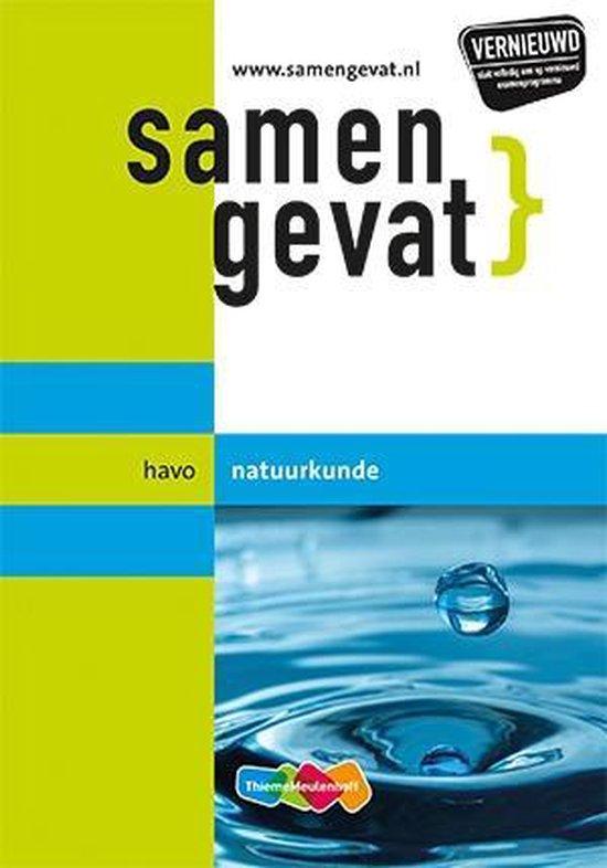 Boek cover Samengevat havo Natuurkunde van A.P.J. Thijssen (Paperback)