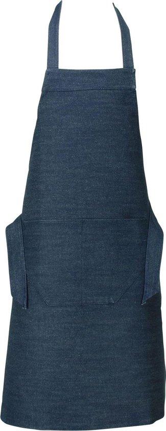 Benza Schort Keukenschort - Denim - Jeans - 70 x 85 cm