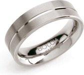 Boccia Titanium 0101-07 Ring -Titanium - Zilverkleurig