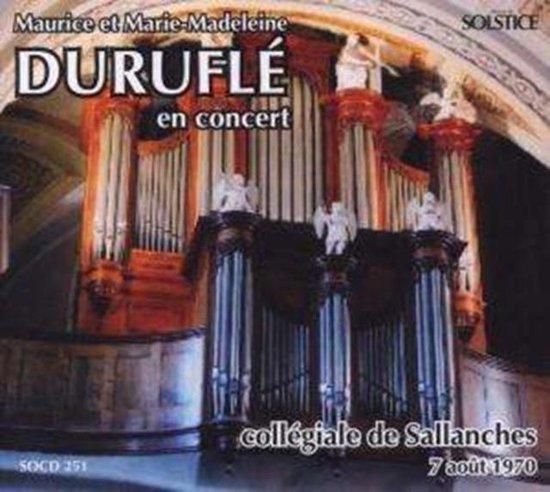 Durufle Maurice/Durufle Marie-Mad - Monsieur & Madame Durufle En Concer
