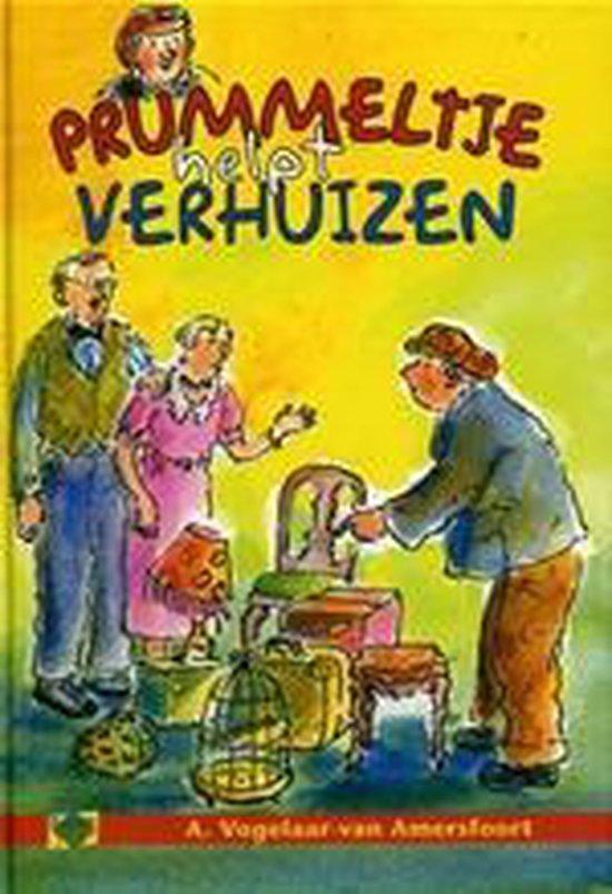 Cover van het boek 'Prummeltje 4 helpt verhuizen'