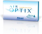 -4,50 - Air Optix® Aqua - 6 pack - Maandlenzen - BC 8,60 - Contactlenzen
