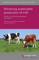 Boek cover Achieving sustainable production of milk Volume 3 van Prof. Jeffrey Rushen (Onbekend)
