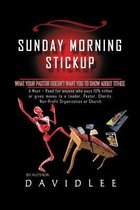 Boek cover Sunday Morning Stickup van David Lee